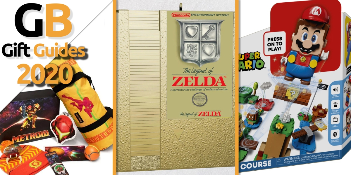 2020 Nintendo gift guide.