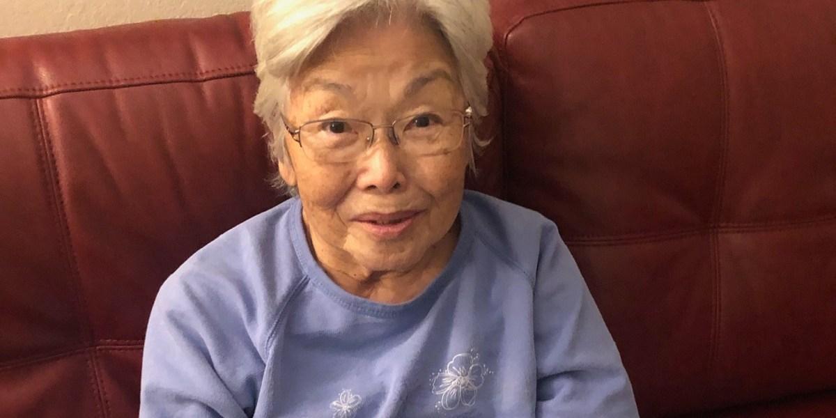 My mother Hiroko Takahashi