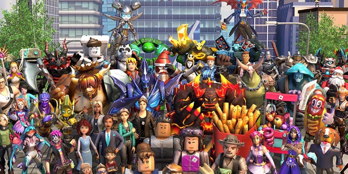 Roblox's user-generated game characters.