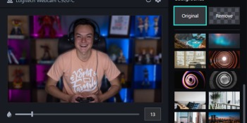 XSplit VCam lets you create custom backgrounds for your videos and video calls