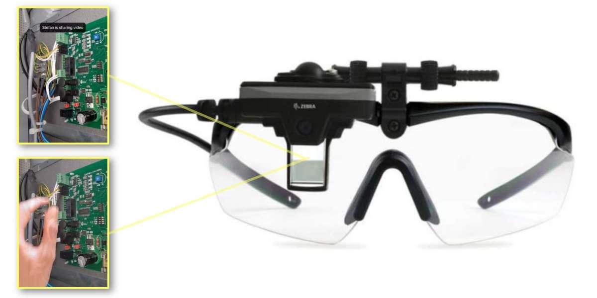 Zebra's enterprise AR glasses add XMReality Remote Guidance software