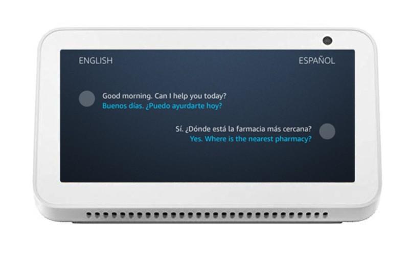 Alexa Live Translation