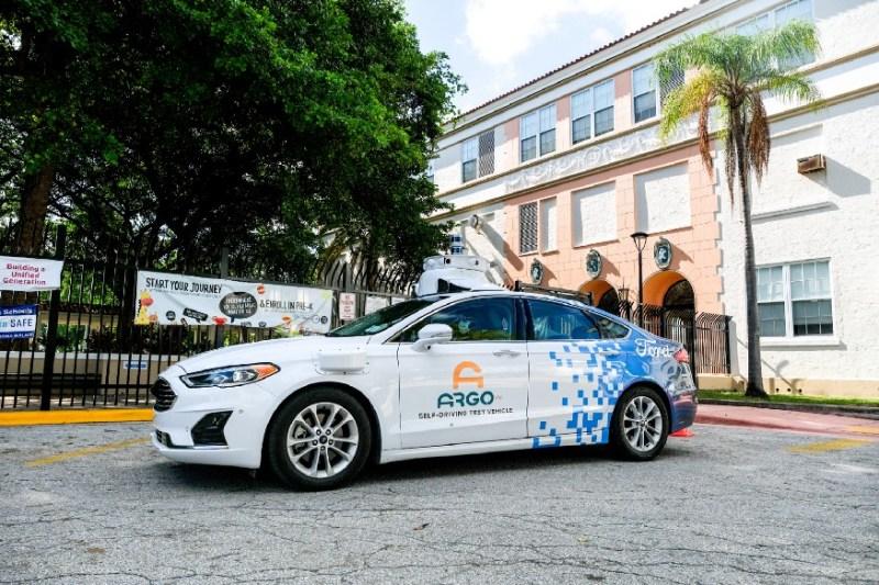 Argo AI Ford Miami