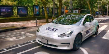 Amid COVID-19 downturn, ride-hailing Beat uses Tesla 3s to launch all-electric fleet