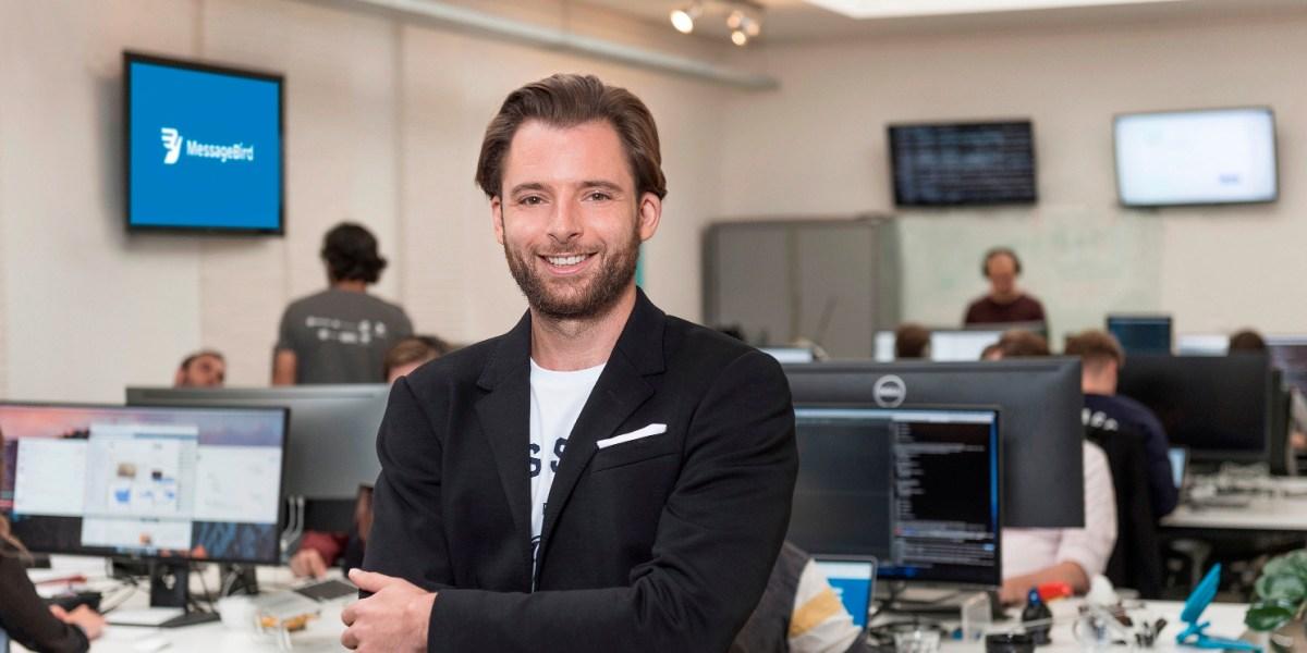 MessageBird CEO Robert Vis