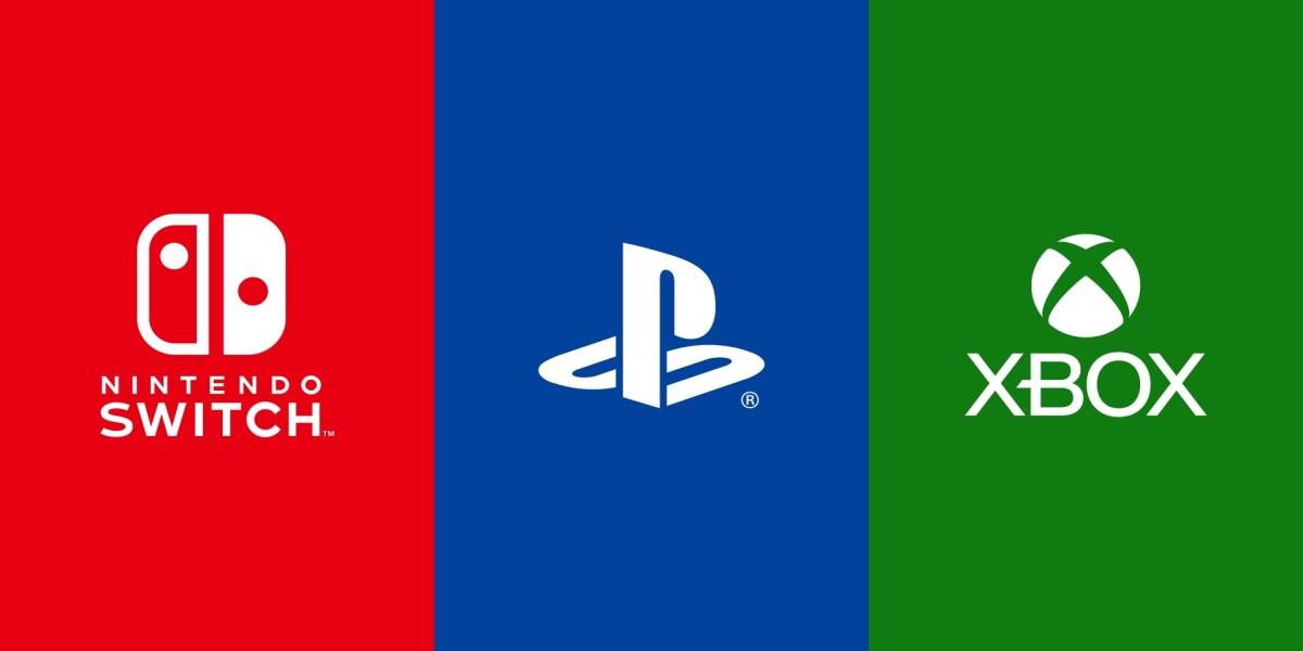 Nintendo, Sony, and Microsoft.