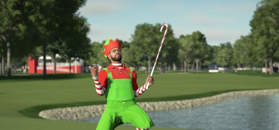 You're supposed to visit the 19th hole after your round, not before deciding what to wear.