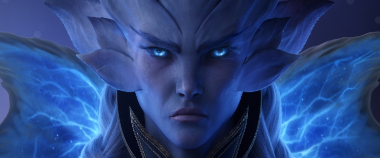 Warcraft Shadowlands Covenant leader the Winter Queen