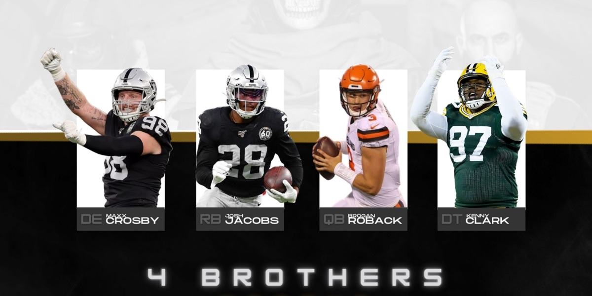 Antares has recruited NFL stars for its 4 Brothers team.