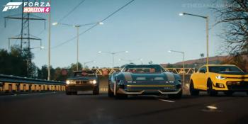 Forza Horizon 4 adds Cyberpunk car as free downloadable content