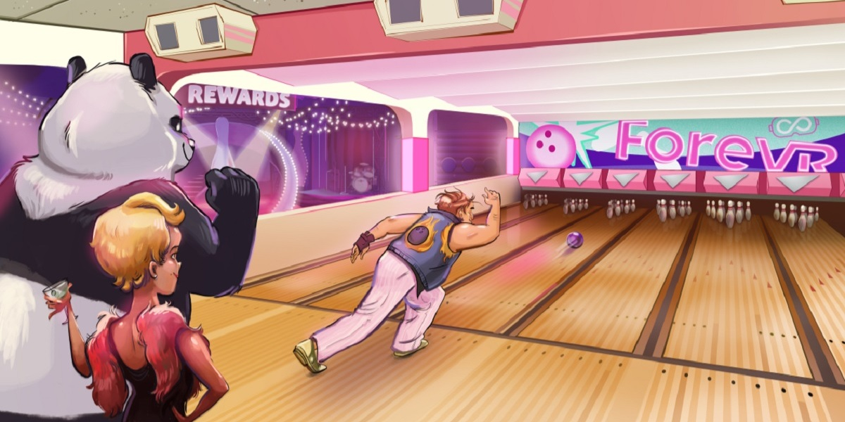 ForeVR is launching a VR bowling game.