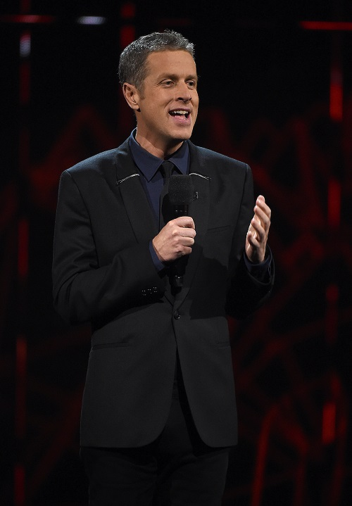 Geoff Keighley hosts The Game Awards 2020 in Hollywood, California.