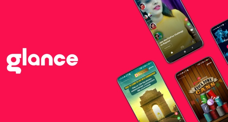 Glance is a lockscreen social content company.