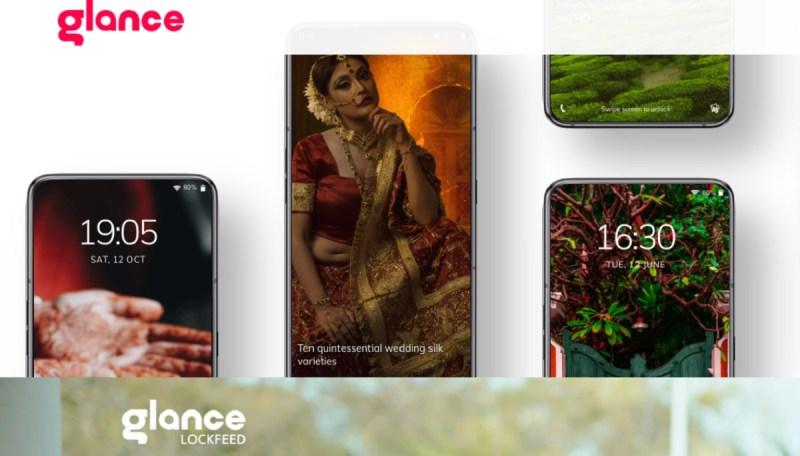 Glance is a lockscreen content company.