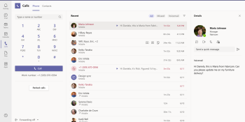 Microsoft Teams now supports Apple CarPlay, saves call recordings, and identifies spam calls