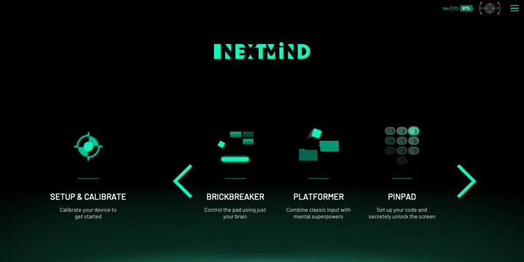 NextMind apps