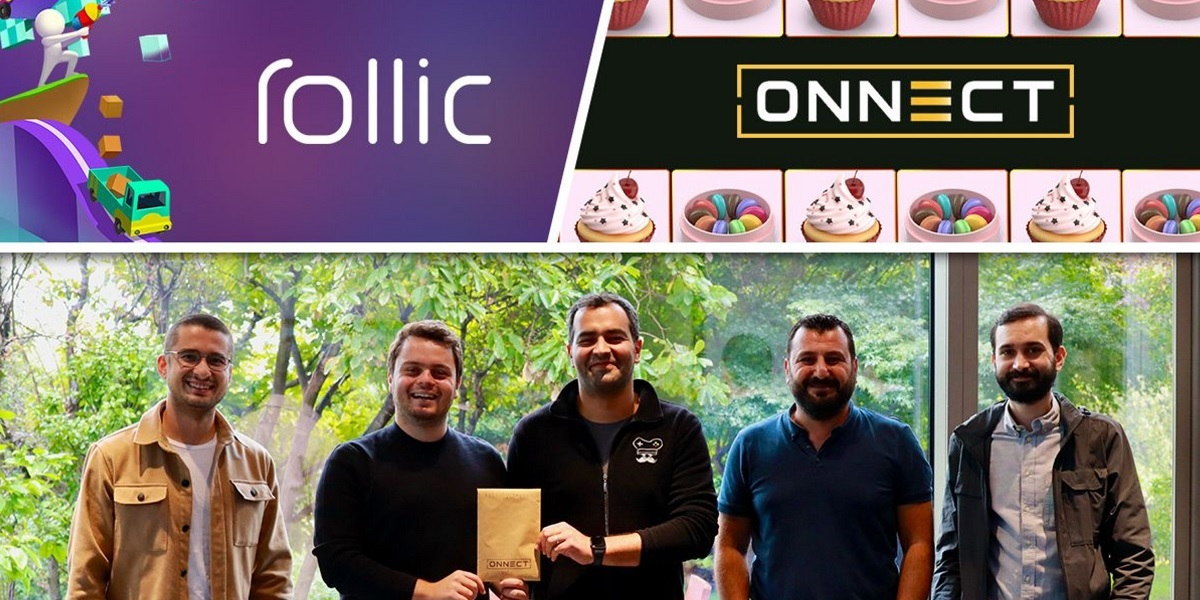 Zynga's Rollic is buying the Onnect matching game for $6 million.