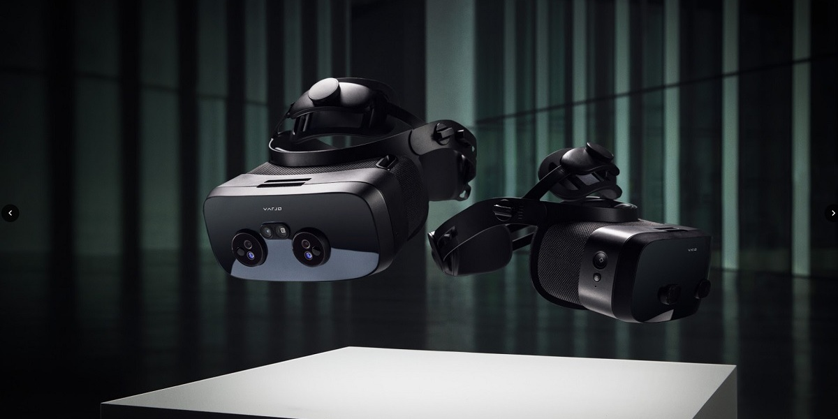 Varjo's new XR-3 and VR-3 headsets.