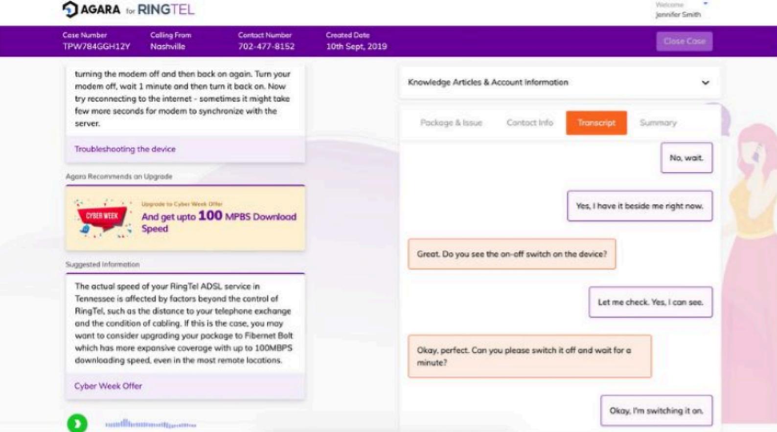 Agara helped Procter & Gamble automate 80% of customer service rep tasks