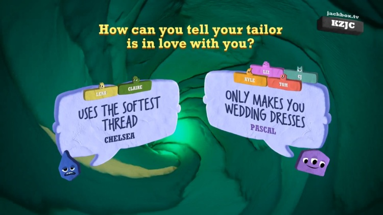 Quiplash 3 from Jackbox Party Pack 7.