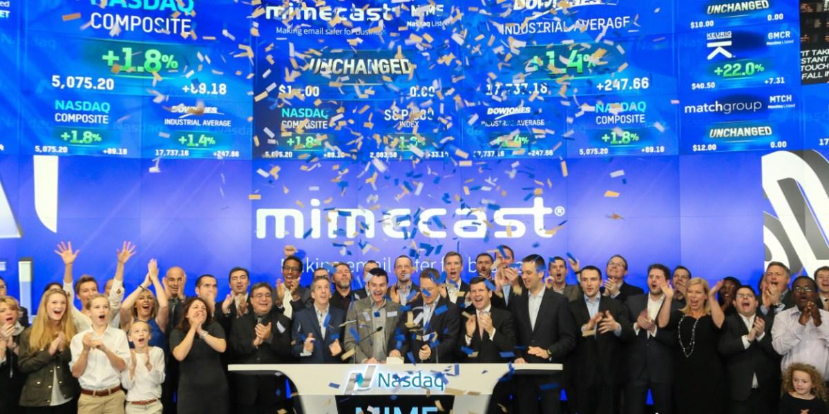 Mimecast IPO, November 2015