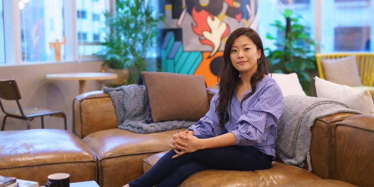 Lynk founder and CEO Peggy Choi