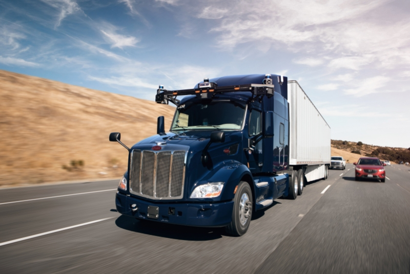Aurora partners with Paccar to develop driverless trucks