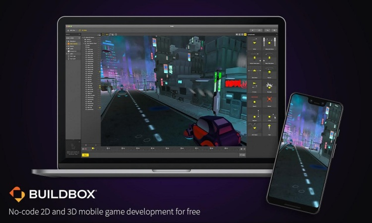 Buildbox lets developers create games without needing to know how to code.