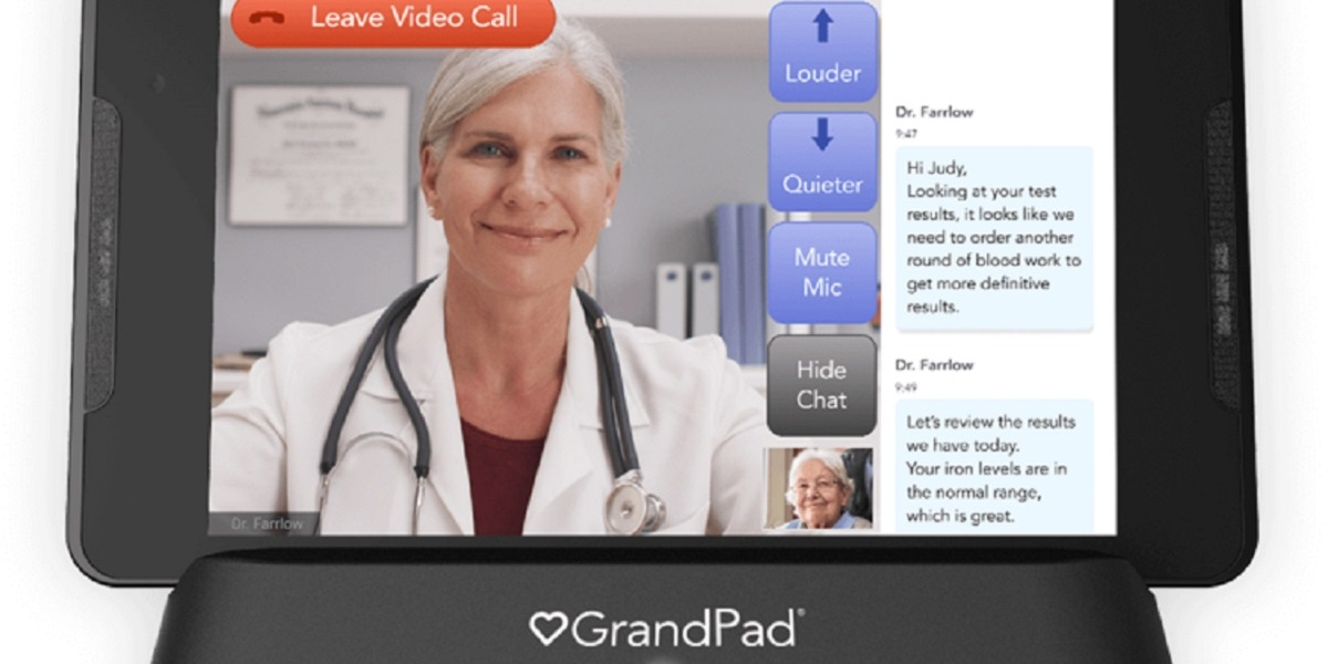 GrandPad is targeted at seniors over 75 years old.