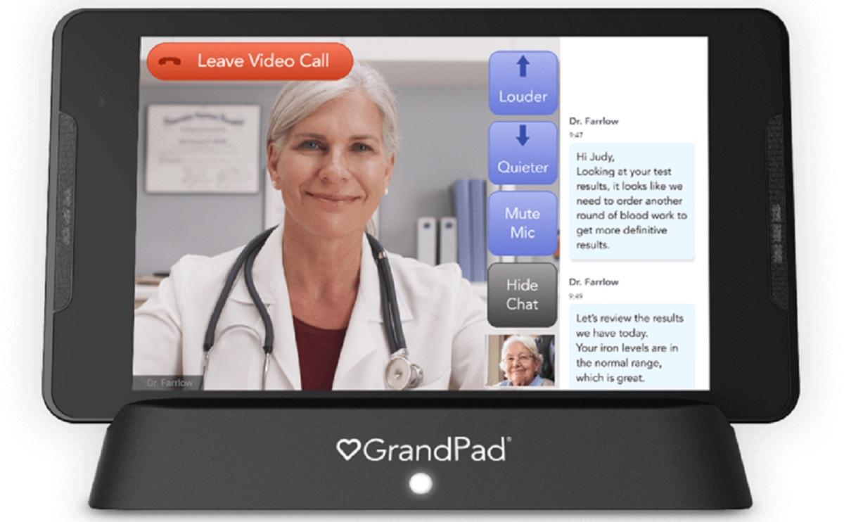 photo of How GrandPad makes communicating easier for the elderly image
