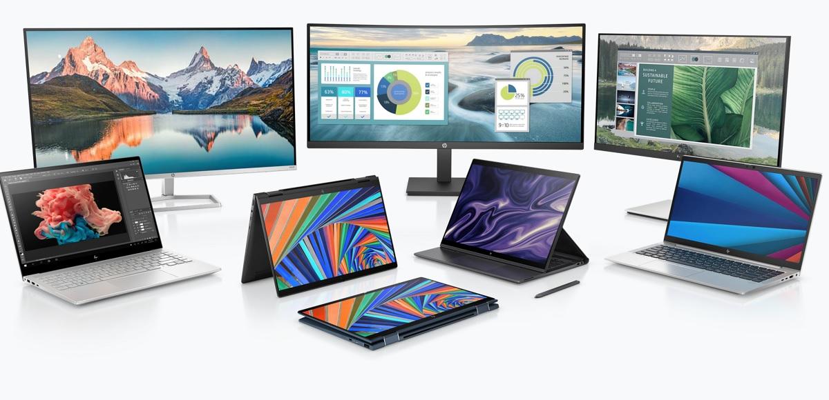 HP's CES 2021 lineup.