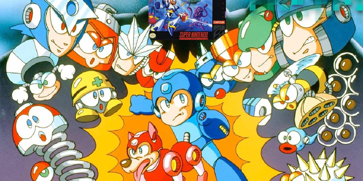 Mega Man vs. Mega Man X.