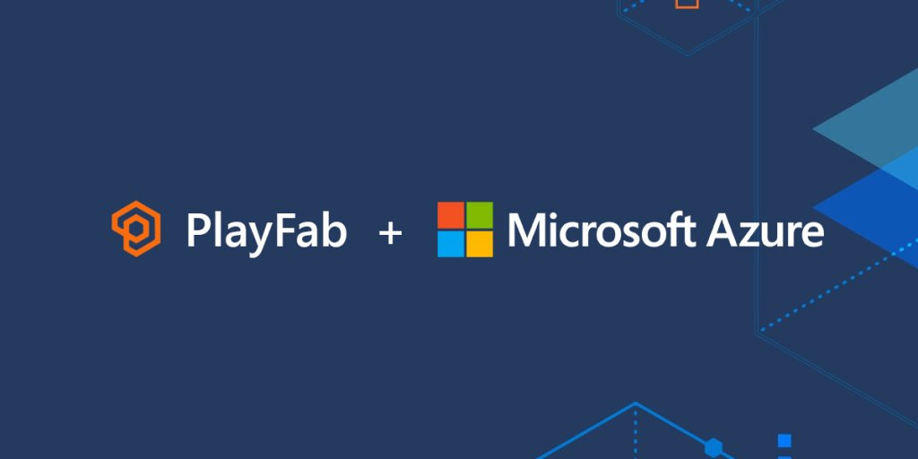 Microsoft offers PlayFab and Azure to game companies using the cloud.