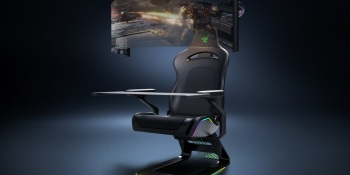 Razer shows smart mask, futuristic gaming chair, and new RTX laptops
