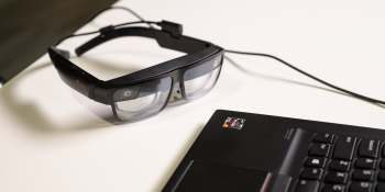 Lenovo's ThinkReality A3 enterprise AR glasses enable data visualization in public