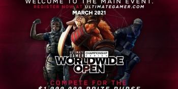 Ultimate Gamer Worldwide Open will give away $1 million in prizes