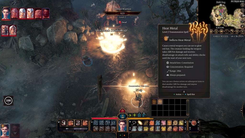 Baldur's Gate III adds druids, a natural choice for its next class Baldurs Gate III heat metal