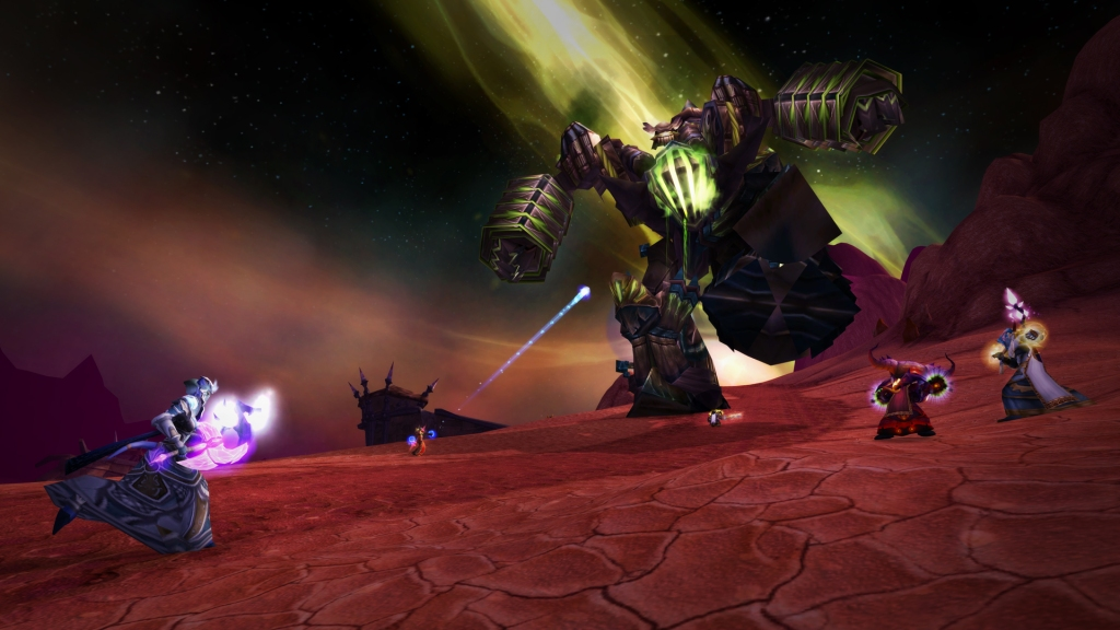 The RetroBeat — How World of Warcraft Classic will reignite the Burning Crusade Burning Crusade Classic BlizzConline Fel Reaver 1920x1080