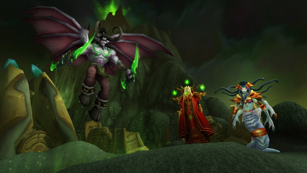 The RetroBeat — How World of Warcraft Classic will reignite the Burning Crusade Burning Crusade Classic BlizzConline Villans 1920x1080