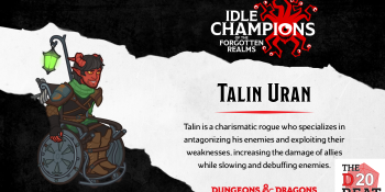 The D20 Beat: Bringing the cool combat wheelchair to Idle Champions of the Forgotten Realms