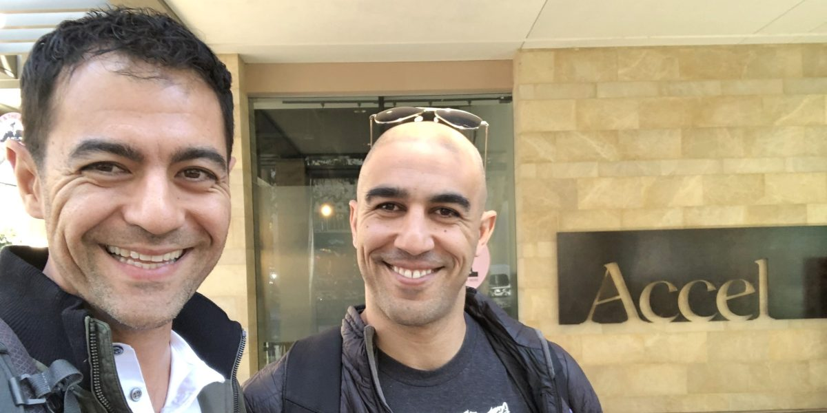 Scratchpad cofounders Pouyan Salehi (CEO) and Cyrus Karbassiyoon CTO)
