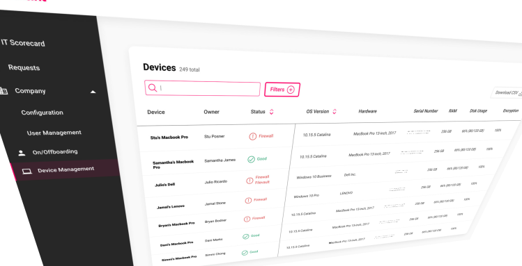 Electric: Device management