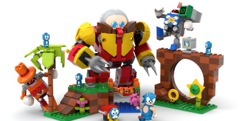 Sonic is getting his own Lego set