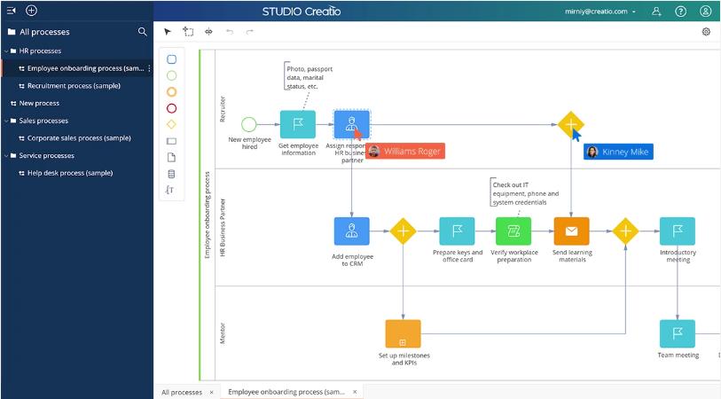 Creatio raises $68 million for low-code enterprise process automation Studio