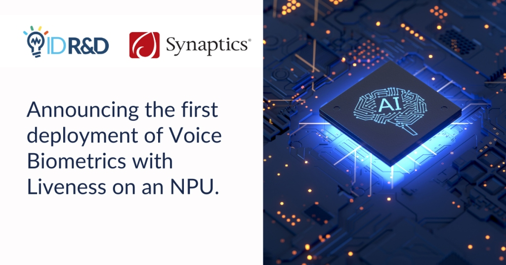 Michael Hurlston: How Synaptics pivoted from mobile/PC sensors to the internet of things Synaptics Voice Biometrics NPU
