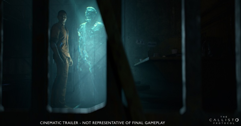 Striking Distance Studios partners with Skybound Entertainment for The Callisto Protocol The Callisto Protocol Cinematic Trailer Still CGWideHolo