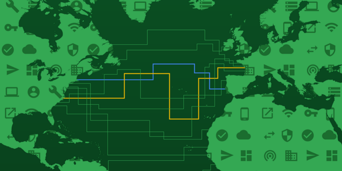 Google Cloud cable systems