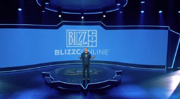 J. Allen Brack opens BlizzCon Online.