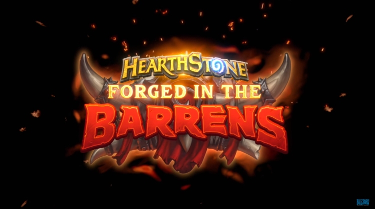 Forged in the Barrens is Hearthstone's next expansion.