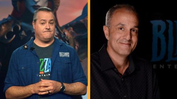 Blizzard president J. Allen Brack and Blizzard co-founder Allen Adham.